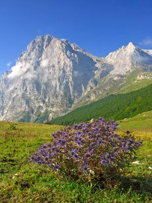 Apennine mountains Abruzzo