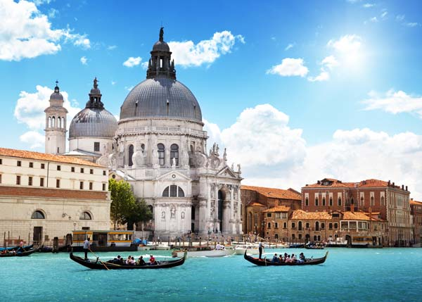 Venice Grand Canal in Italy