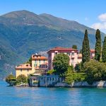 Lake Como villa in summer