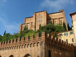 Siena architecture in Italy